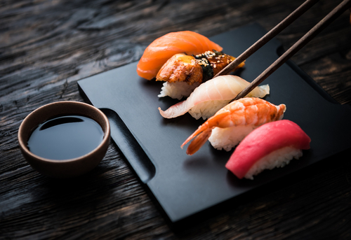 回転寿司 妊婦